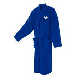 University of Kentucky Ultra Plush Royal Blue Bathrobe