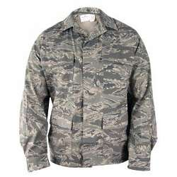 Men's Ripstop ABU Camo Coat