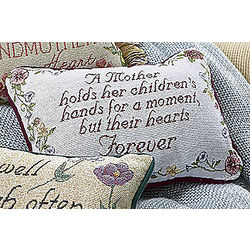 Mom Sentiments Throw Pillow