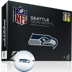 Personalized Seattle Seahawks Golf Balls