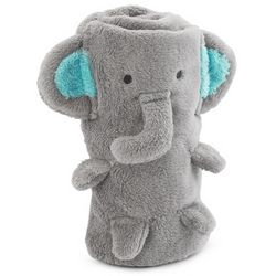 Plush Elephant Blanket
