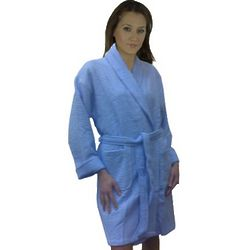 Hotel Spa Women's Bathrobe with Terry Loop Lining