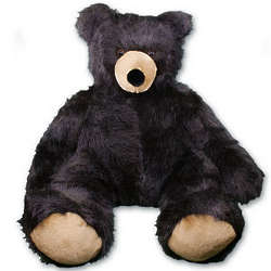 Personalized Extra Large Brutus the Black Bear
