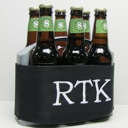 Groomsmen's Personalized 6-Pack Drink Tote