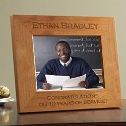 Personalized Business Message Wooden Photo Frame