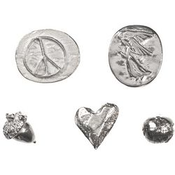 Bag of Pewter Charms