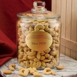 Giant Whole Cashews in a 5 Pound Jar