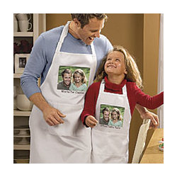 Chefs Choice Custom Apron with Photo and Personalization