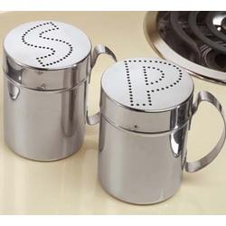 Stainless Steel Salt & Pepper Shaker Set