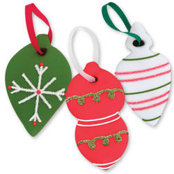 Gingerbread Cookie Christmas Tree Ornaments