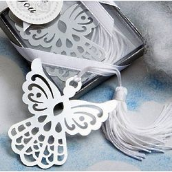 Silver Angel Bookmark Favors