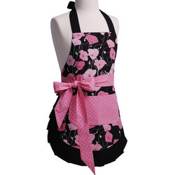 Girl's Original Midnight Bloom Apron