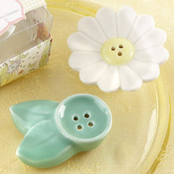 Blossom Salt & Pepper Favor