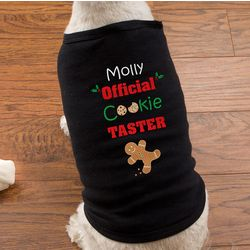 Personalized Christmas Cookies Dog Shirt