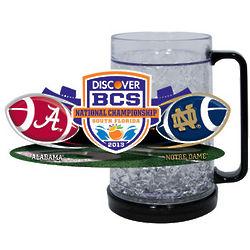 Notre Dame Fighting Irish vs. Alabama Crimson Tide Freezer Mug