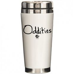 Oddities Logo Travel Mug