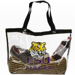 LSU Tigers Large See All Tote Bag