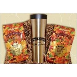 Gourmet Coffee Autumn Twin Pack Travel Set