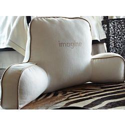 Linen Bed Rest Pillow