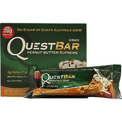Peanut Butter Supreme QuestBar Protein Bars
