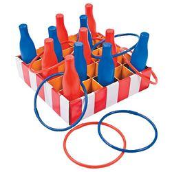 Carnival Bottle Ring Toss Game
