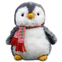 Personalized Christmas Penguin Stuffed Animal