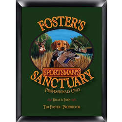Sportsman's Design Personalized Pub Sign