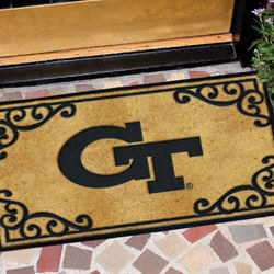 Georgia Tech Yellow Jackets Door Mat