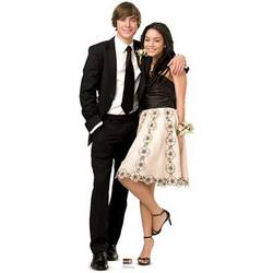 Troy & Gabriella High School 3 Musical Life Size Cutout