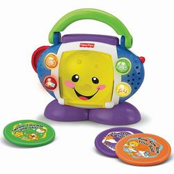 Laugh and Learn Sing-With-Me Toy CD Player