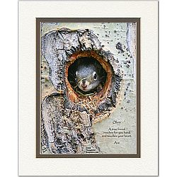 Friendship Poem Personalized Baby Squirrel Print