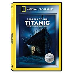 Secrets of the Titanic 100 Year Anniversary DVD