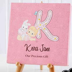 Personalized Precious Moments Baby Name Artwork