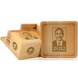 Obama Drink Coasters Set