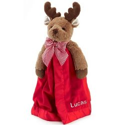 Reindeer Snuggler Plush Blanket