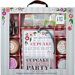 Cupcake Baking Party Kit