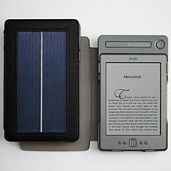 Solar Lighted Kindle Cover