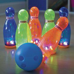 Rainbow Lights Bowling Set