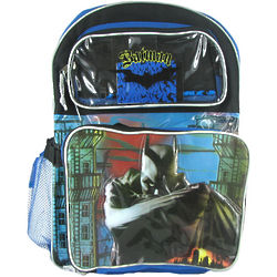 Large Batman Backpack and Lunch Bag