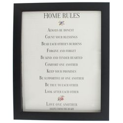 Traditional Word of God Home Rules Art Print