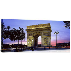 Arc de Triomphe in Paris Canvas