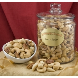 Superior Mixed Nuts in 5.5 Pound Glass Jar