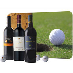 US Open Champions Golf & Wine Gift Set