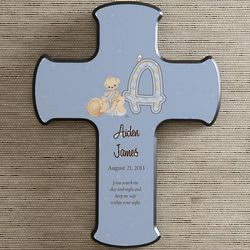 Personalized Precious Moments Baby Wall Cross
