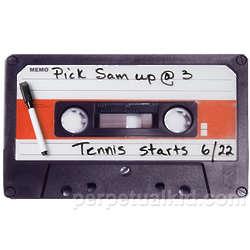Cassette Tape Memo Board