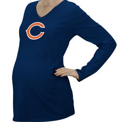 Chicago Bears Women's Maternity Long Sleeve T-Shirt
