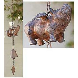 When Pigs Fly Hanging Bell