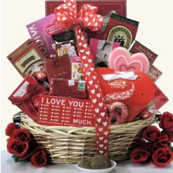 Sweet Devotion Large Chocolate and Sweets Gift Basket