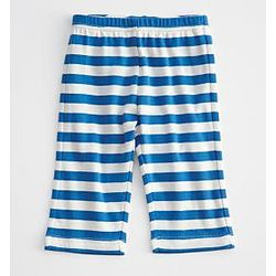 Blue Striped Cotton Baby Pants