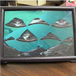 Soothing Rotating Sandscape Frame